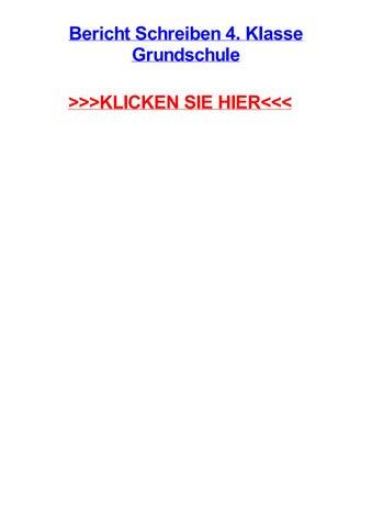 Bericht schreiben 4 klasse grundschule by karendawpfq - issuu