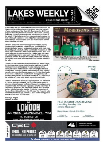 84167c2e465 Issue 642 by Lakes Weekly Bulletin - issuu