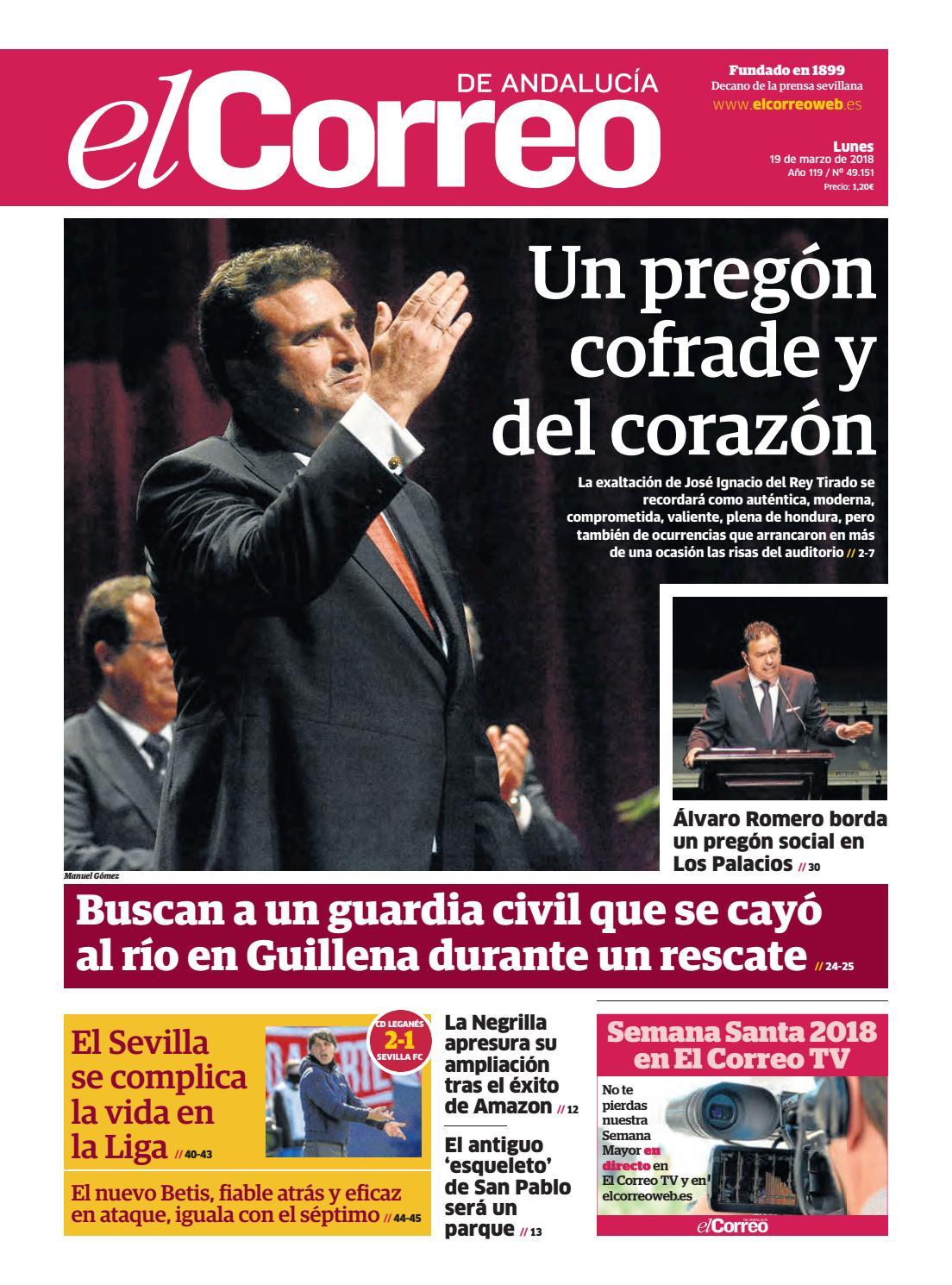 19.03.2018 El Correo de Andalucía by EL CORREO DE ANDALUCÍA S.L. - issuu 36d4c5cfa0e