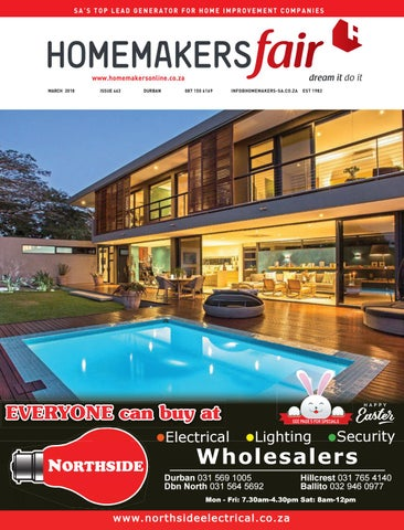 Homemakersfair Durban March 2018 By Homemakers Issuu