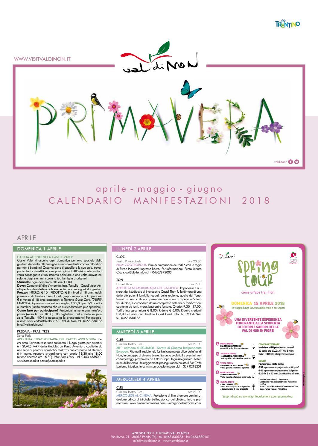 Tabloid primavera 2018 web by Apt Val di Non - issuu 4a366ad56f2