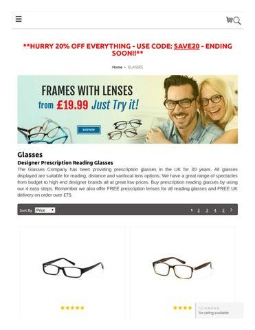 e13d48749c Online prescription reading glasses