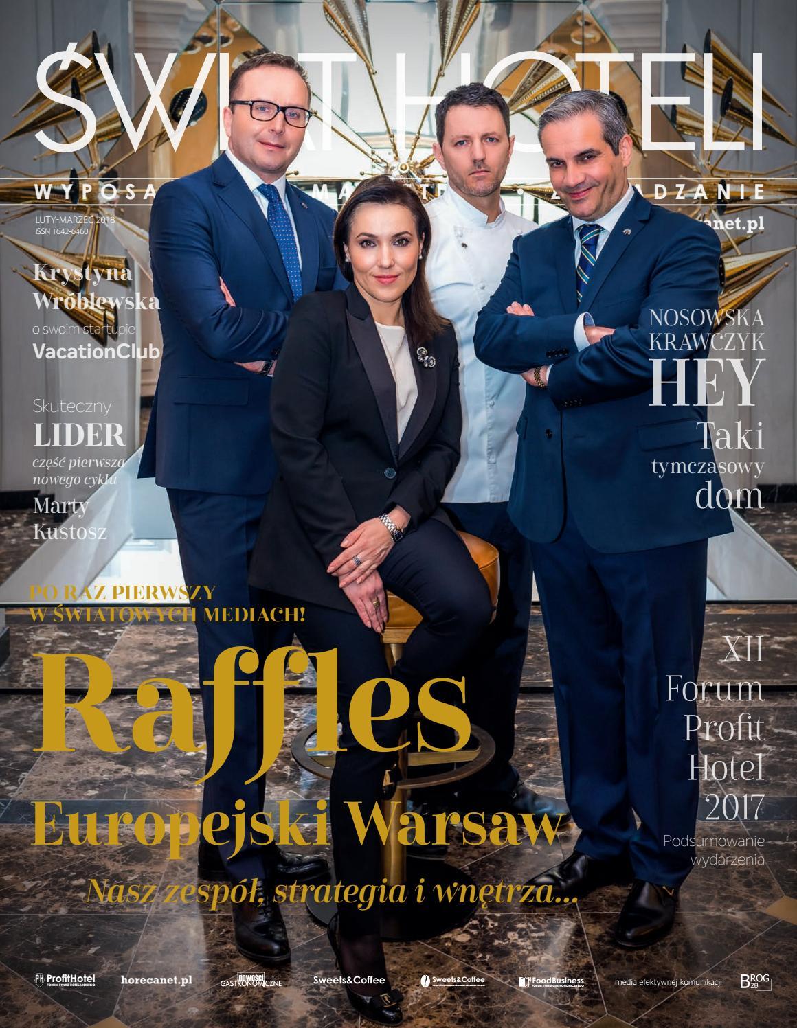 bb568298f4 ŚWIAT HOTELI luty-marzec 2018 by BROG B2B - issuu