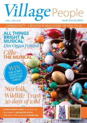 b0123570 Village People South Norwich edition – April / May 2018 (Late Spring ...