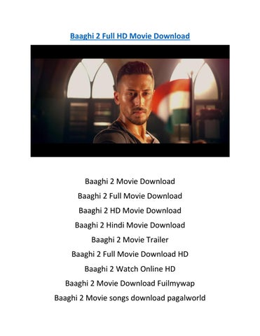 Baaghi 2 film full video song download