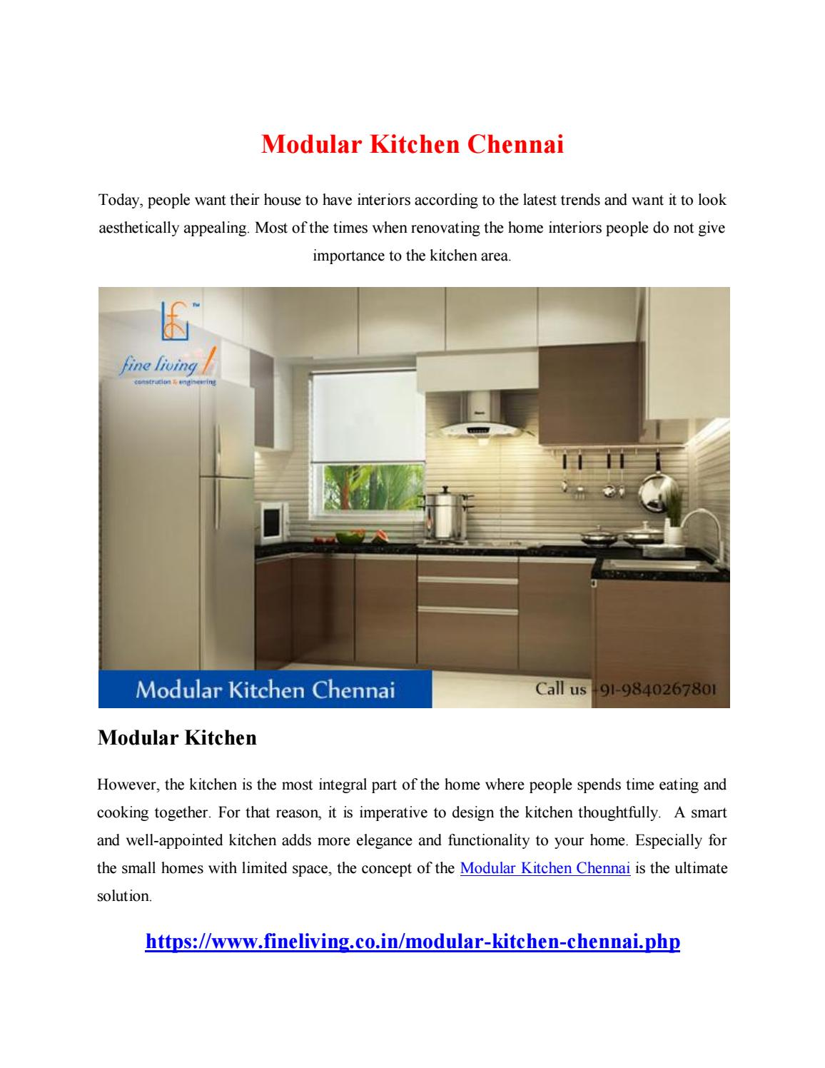 Modular Kitchen Chennai by yandex686 - issuu