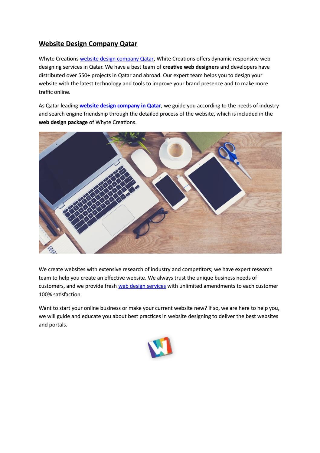 Website Design Company Qatar By Allu Sakib Issuu