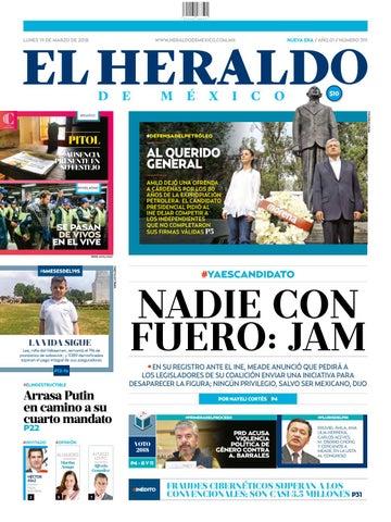 201d130d716fb El heraldo 319 by El Heraldo de México - issuu