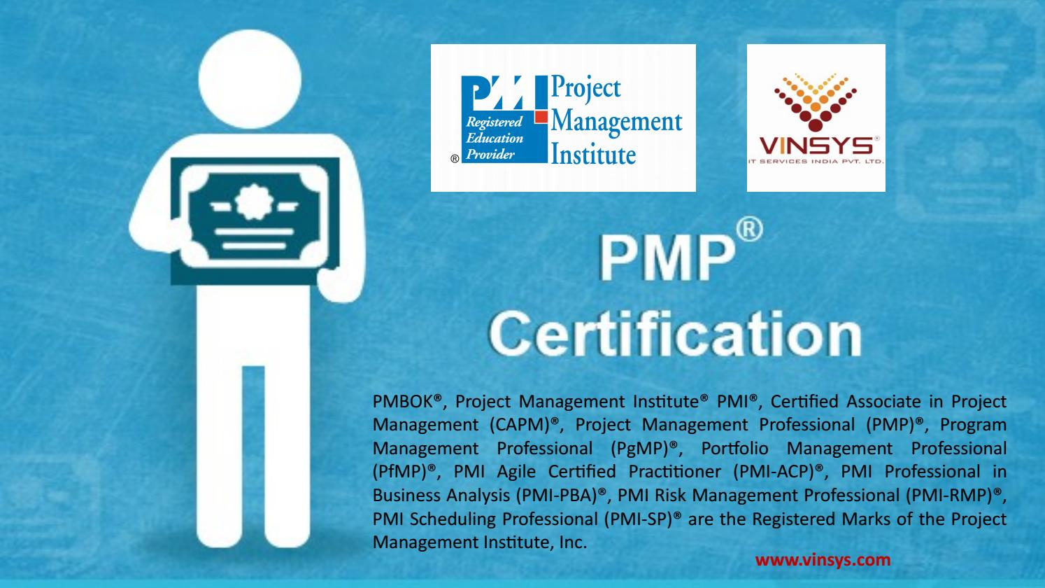Pmp Certification In Bangalore Pmp Certification Training Bangalore