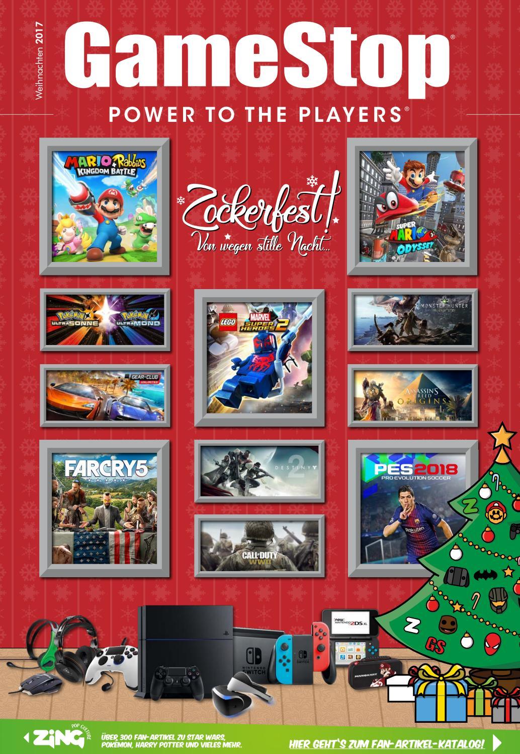 Gamestop Katalog Weihnachten 2017 by GameStop - issuu