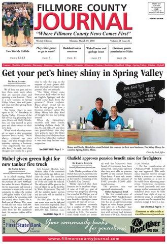 Fillmore County Journal 31918 By Jason Sethre Issuu