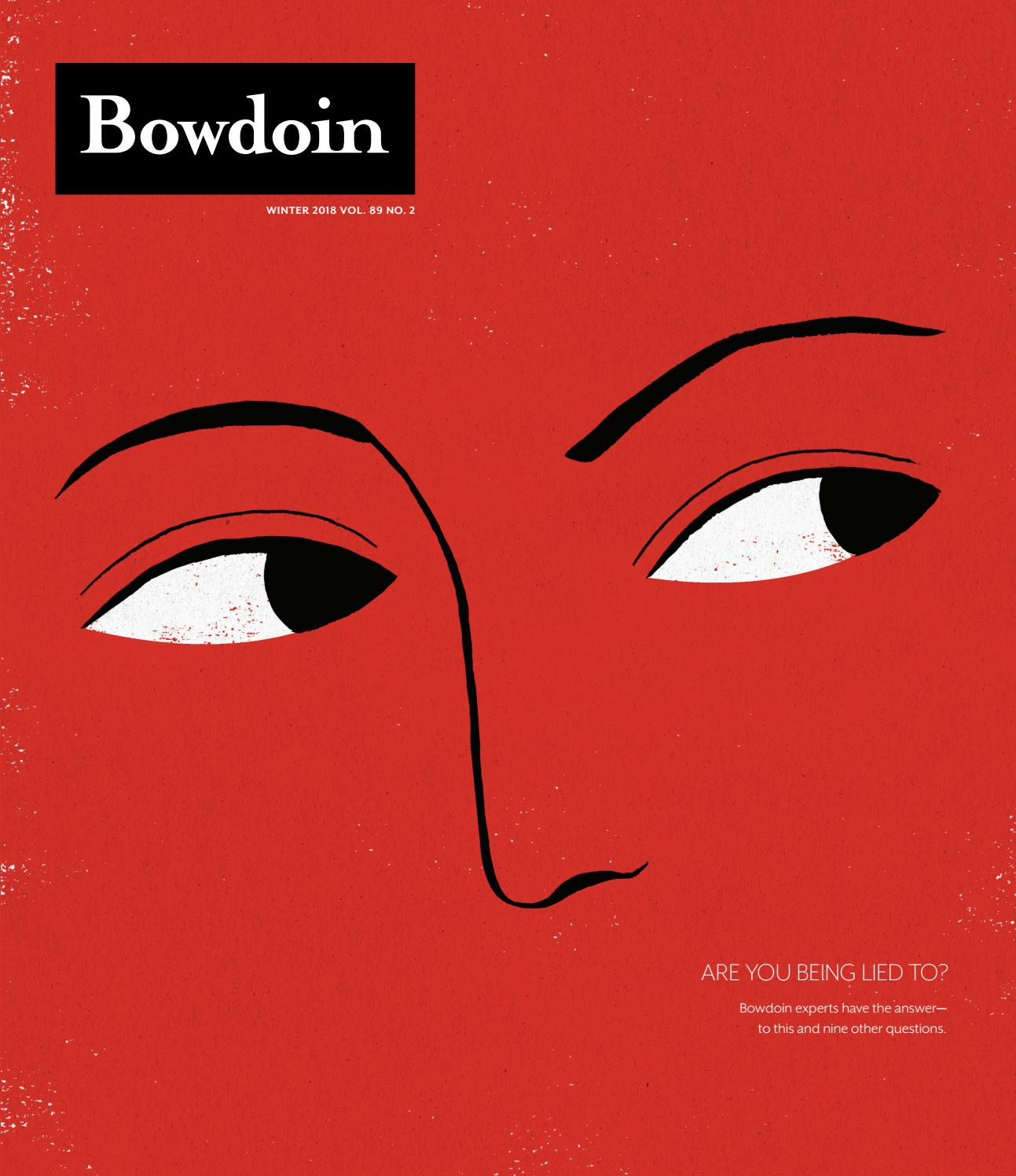 Bowdoin Winter 2018 Vol 89 No 2 By Bowdoin Magazine Issuu