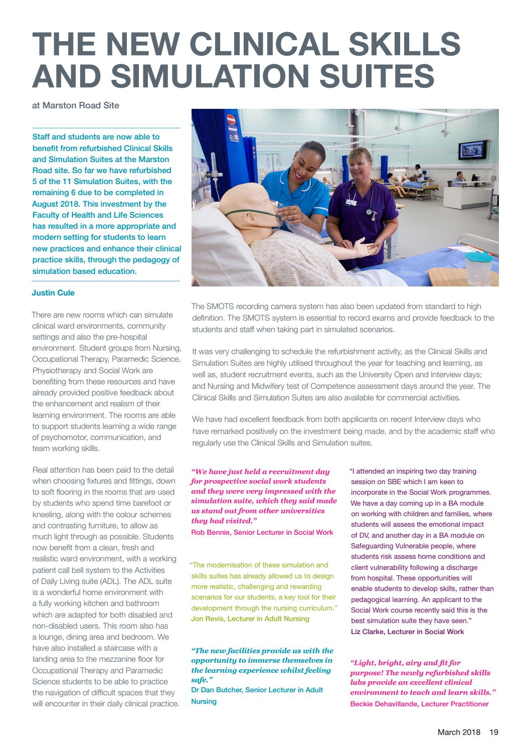 HLS Faculty and Research Update Spring 18 by brookes7 - issuu