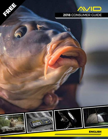 Avid Carp 2018 Consumer Guide- English by Fishing UK - issuu