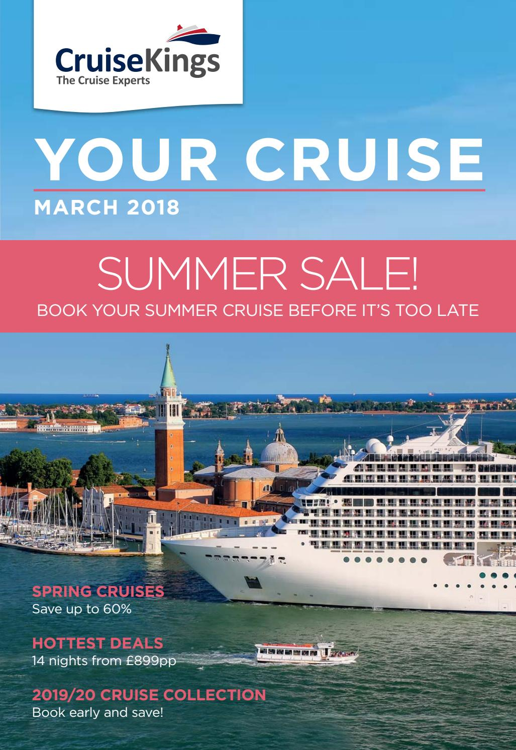 cruises in march