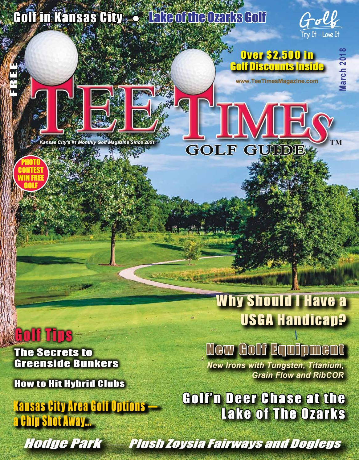 Tee Times Golf Guide Magazine March