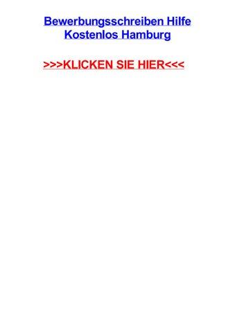 Bewerbungsschreiben Hilfe Kostenlos Hamburg By Reneenkmf Issuu