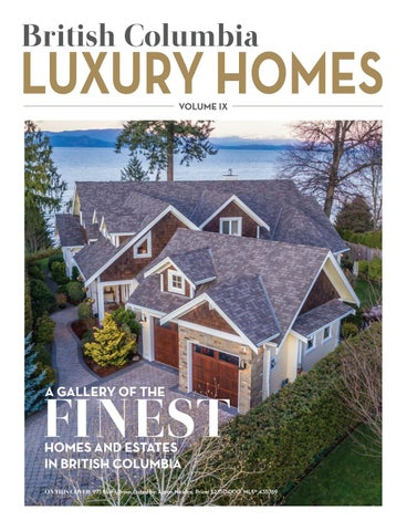 British Columbia Luxury Homes U2013 Volume IX   April 2018