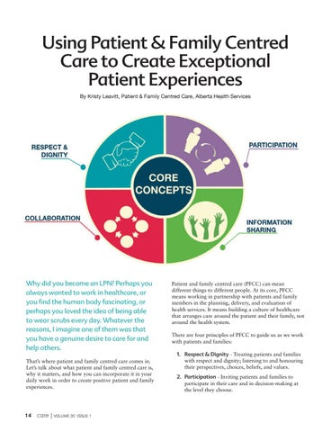 Page 14 of Creating Exceptional Patient Experiences