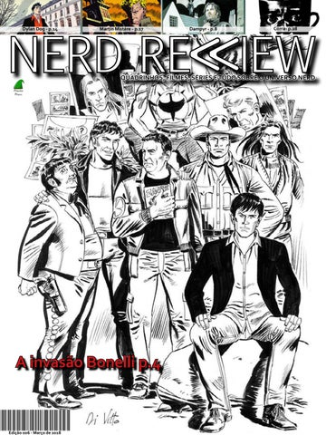deb515dad9ab4 Nerd review 006 by Marcelo Gaudio Augusto - issuu
