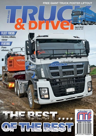57c801a0e1 NZ Truck   Driver April 2018 by NZ Truck   Driver - issuu