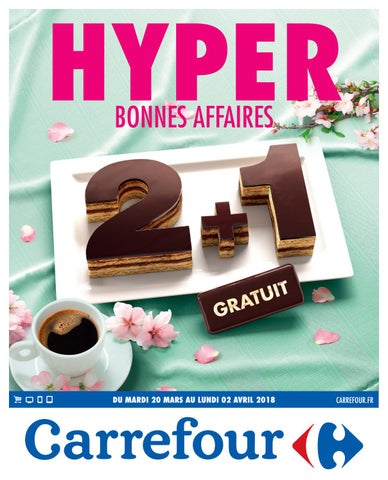 2359a723e0 Catalogue carrefour du 20 mars au 02 avril 2018 by ...
