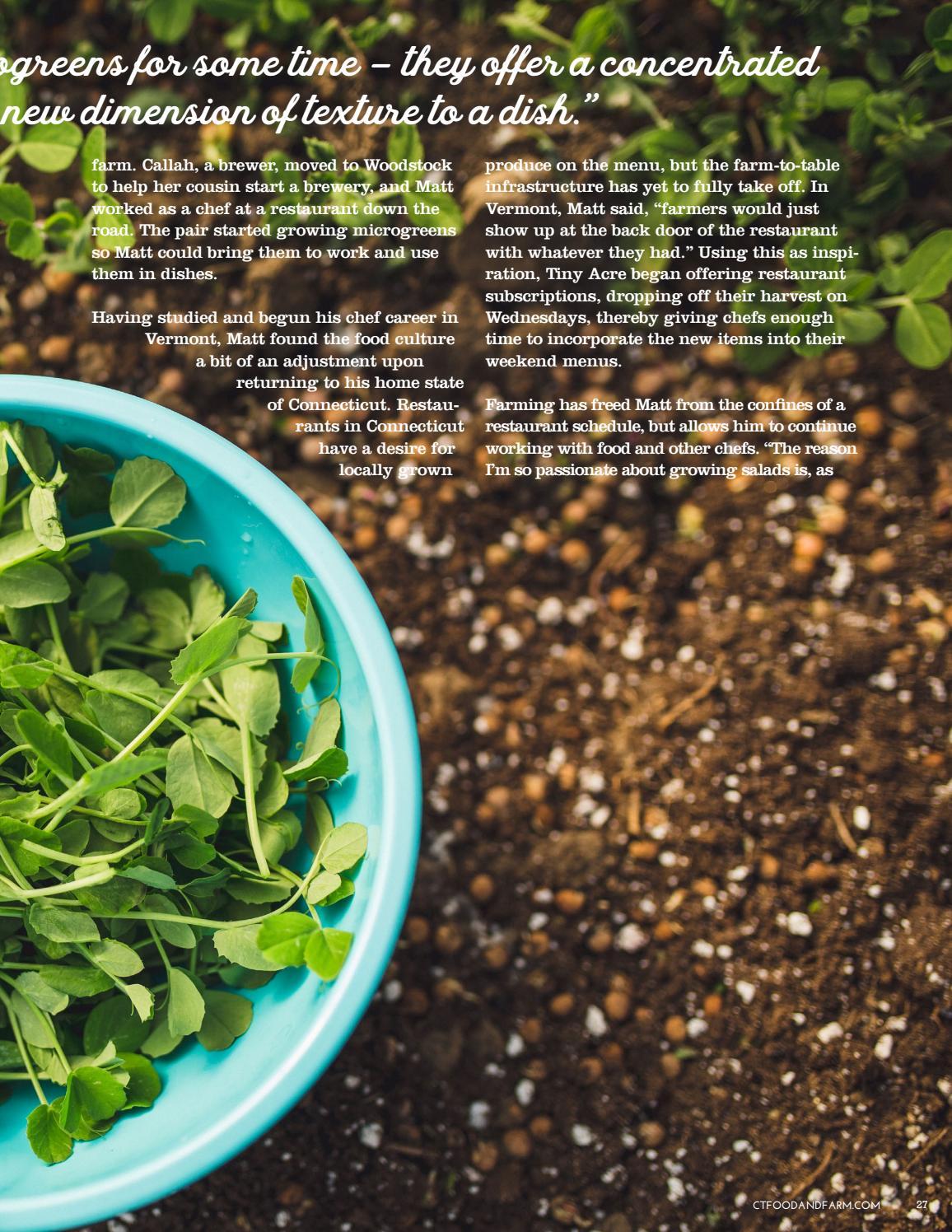 Connecticut Food & Farm Magazine, Spring 2018, Volume 12 by ...
