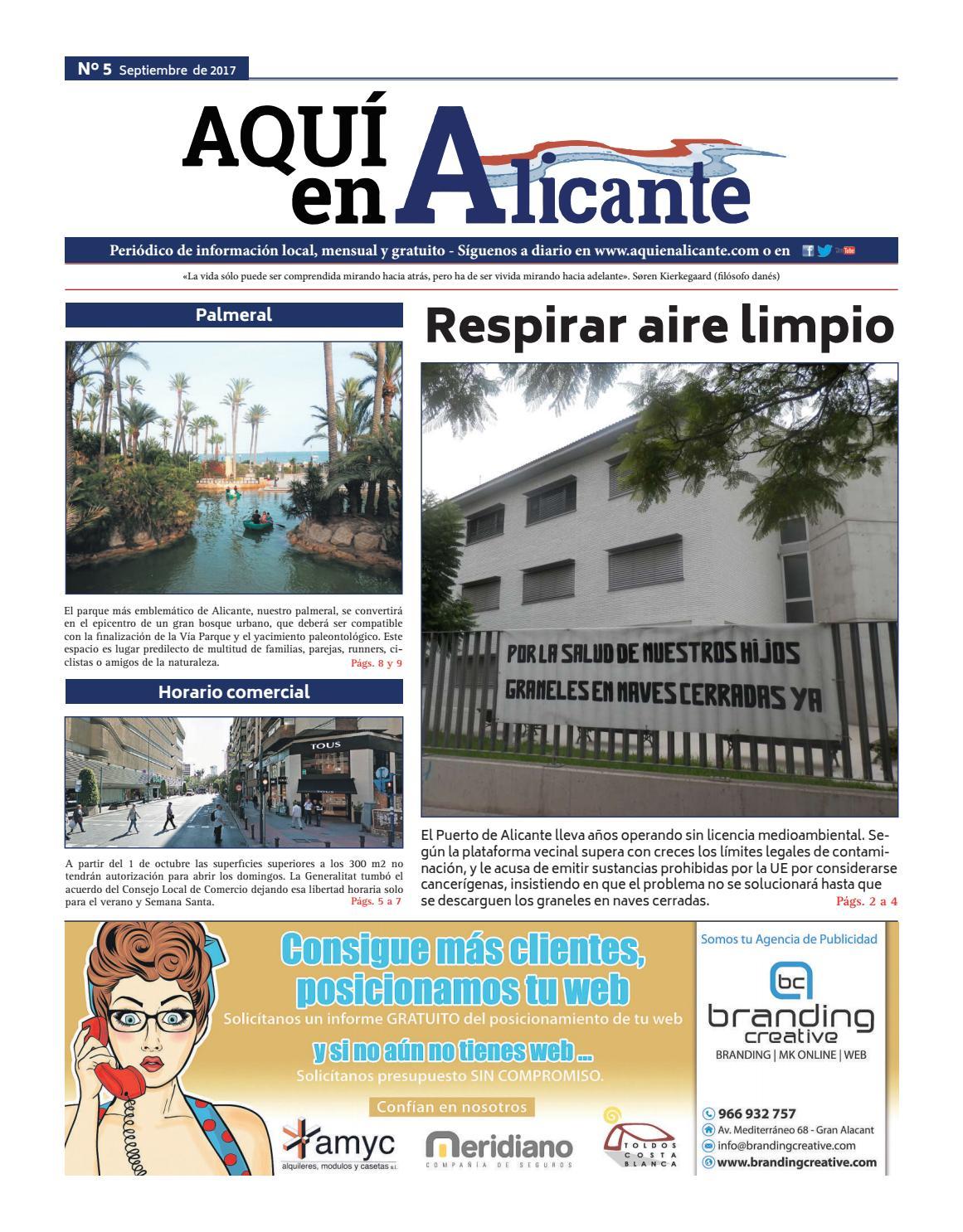b5bfa81825ce AQUÍ en Alicante (número 5 - Septiembre 2017) by aquimediosdecomunicacion -  issuu
