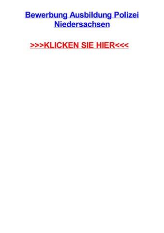 bewerbung ausbildung polizei niedersachsen klicken sie hier - Polizei Niedersachsen Bewerbung