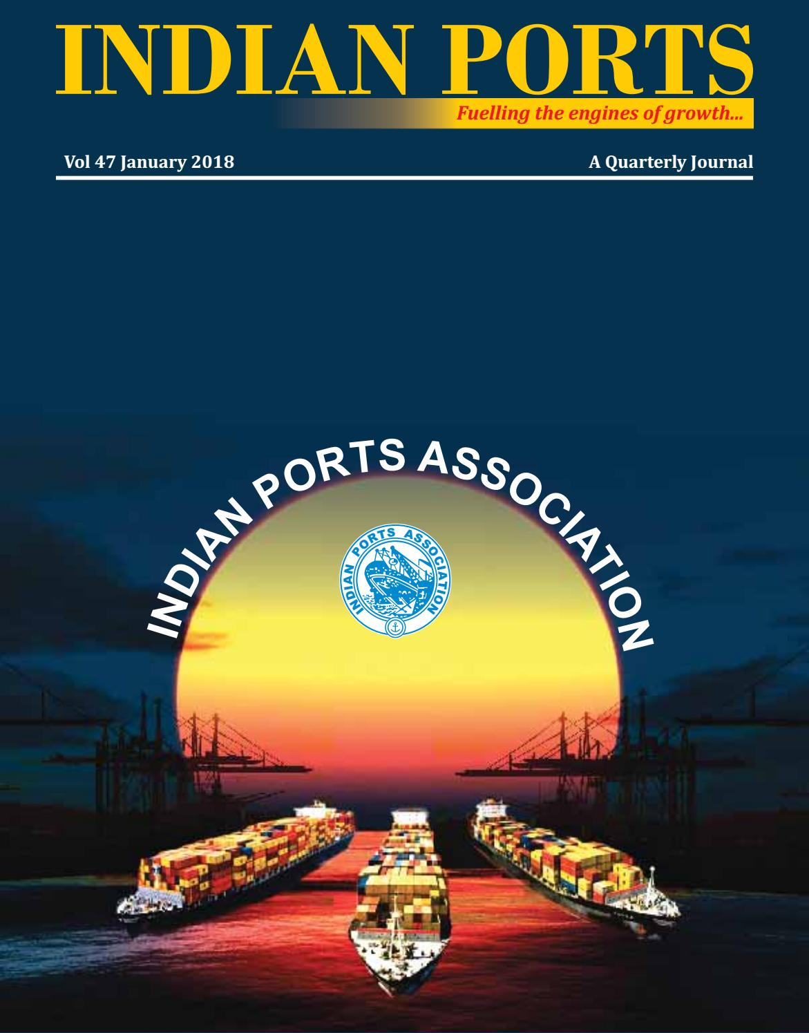 Indian ports journal january 2018 pdf by Roselin Kiro - issuu