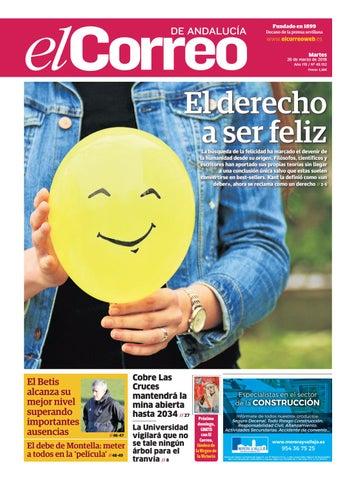 35ebdcf32dbf0 20.03.2018 El Correo de Andalucía by EL CORREO DE ANDALUCÍA S.L. - issuu