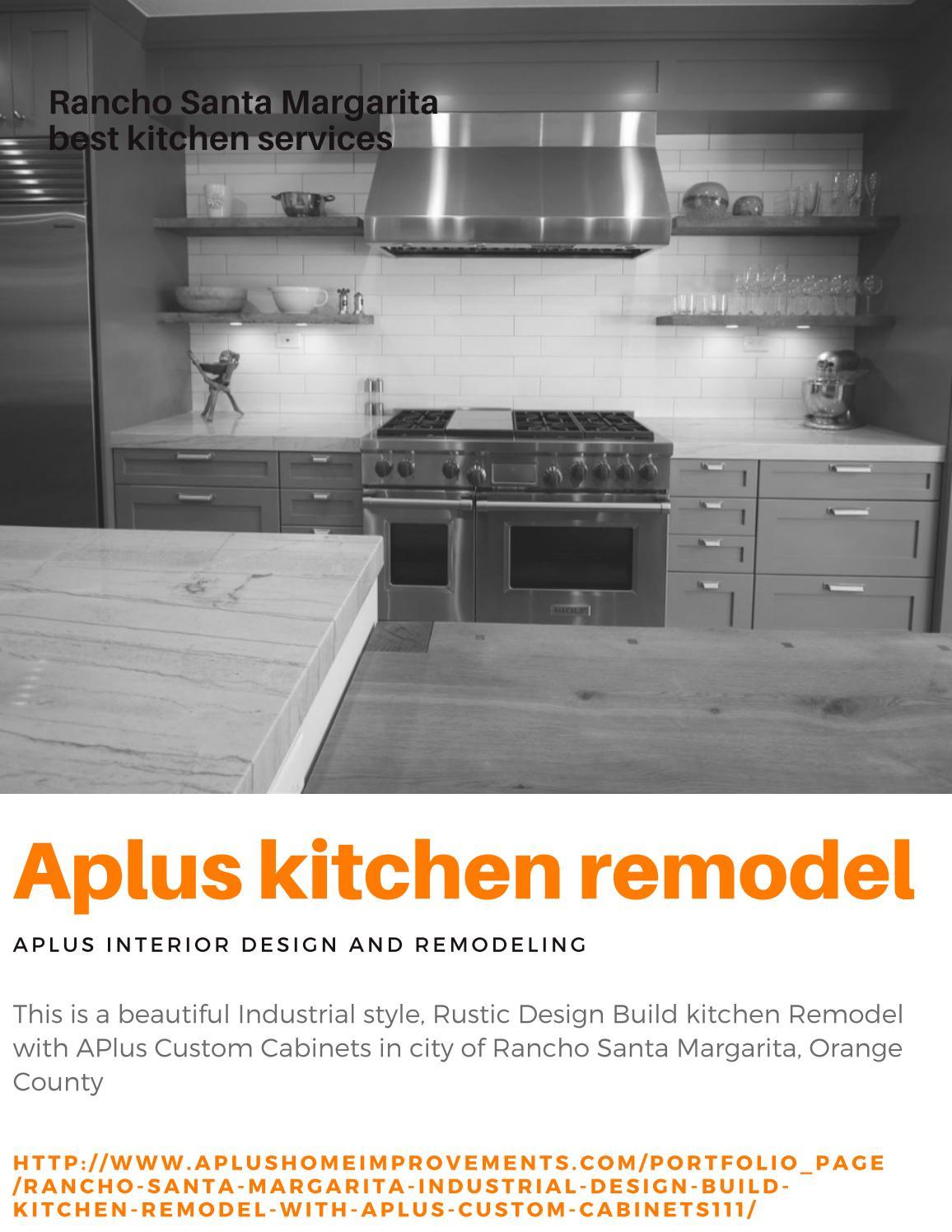 Rancho Santa Margarita Kitchen Remodel By Alex Tabrizi Issuu
