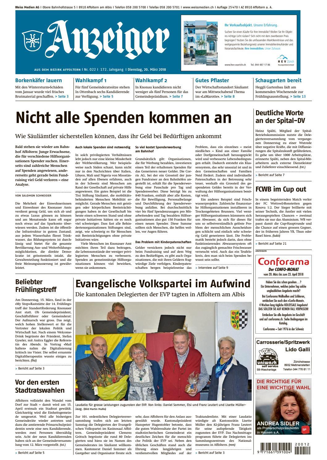 022 2018 by AZ-Anzeiger - issuu d4342789df