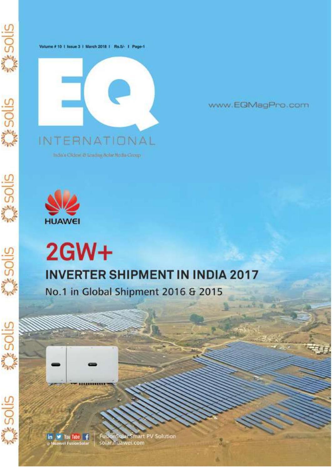 Eq Magazine March 2018 Edition By Intl Solar Media Group Issuu Skai Robust Offtheshelf Power Electronics For Emobility