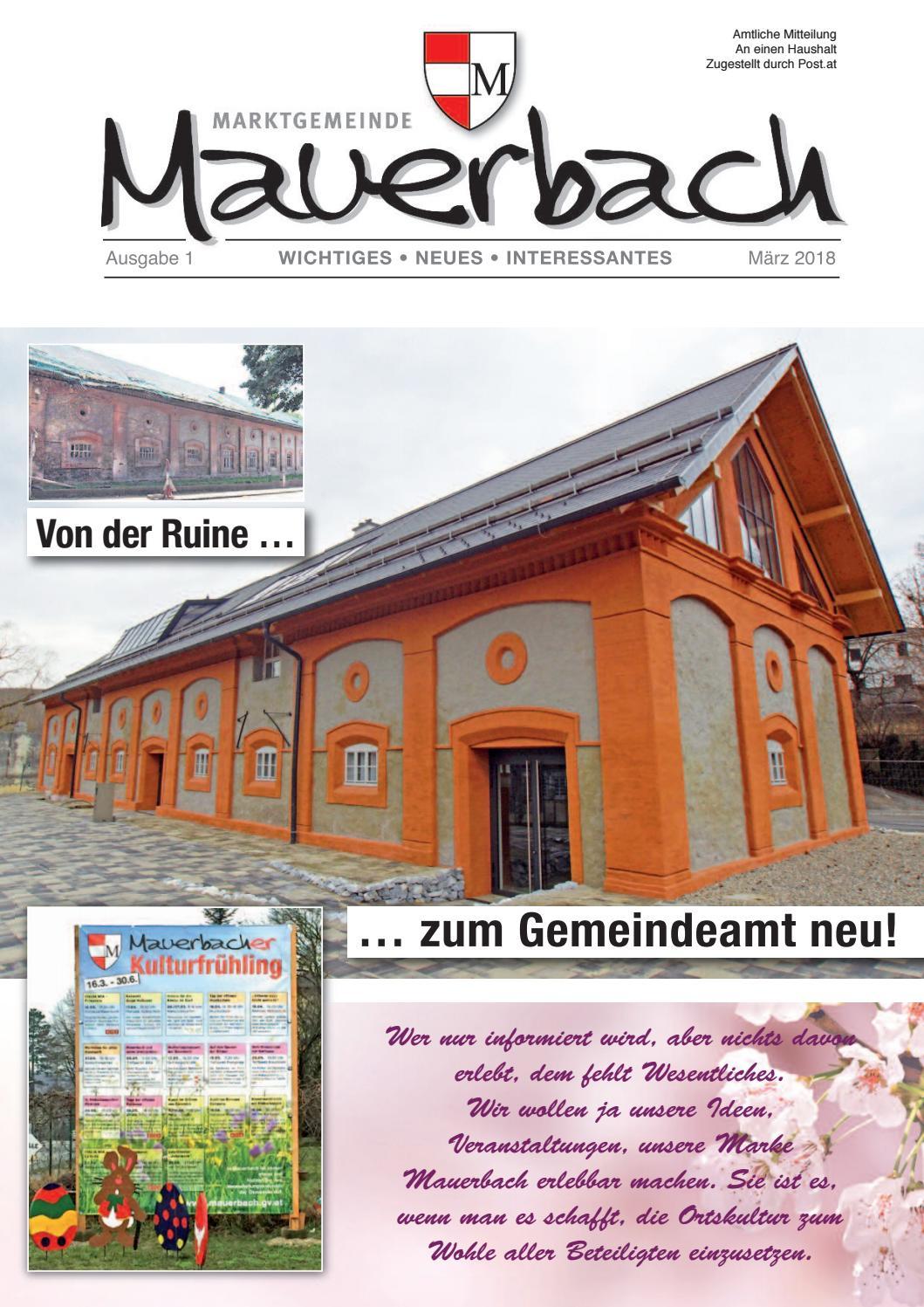 Blitz dating aus mauerbach - Sittersdorf dating events