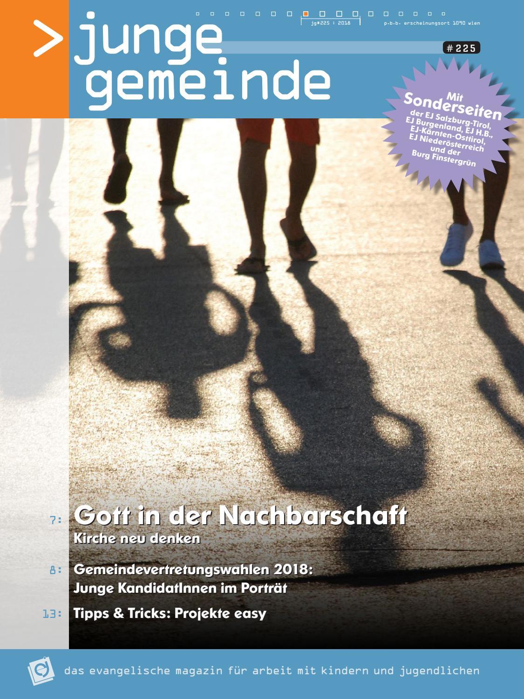 Junge Gemeinde 225 - Gott in der Nachbarschaft by Joachim Hoffleit ...