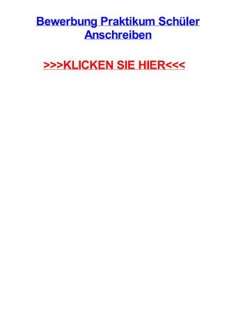 bewerbung praktikum schler anschreiben recklinghausen north rhine westphalia - Schuler Bewerbung
