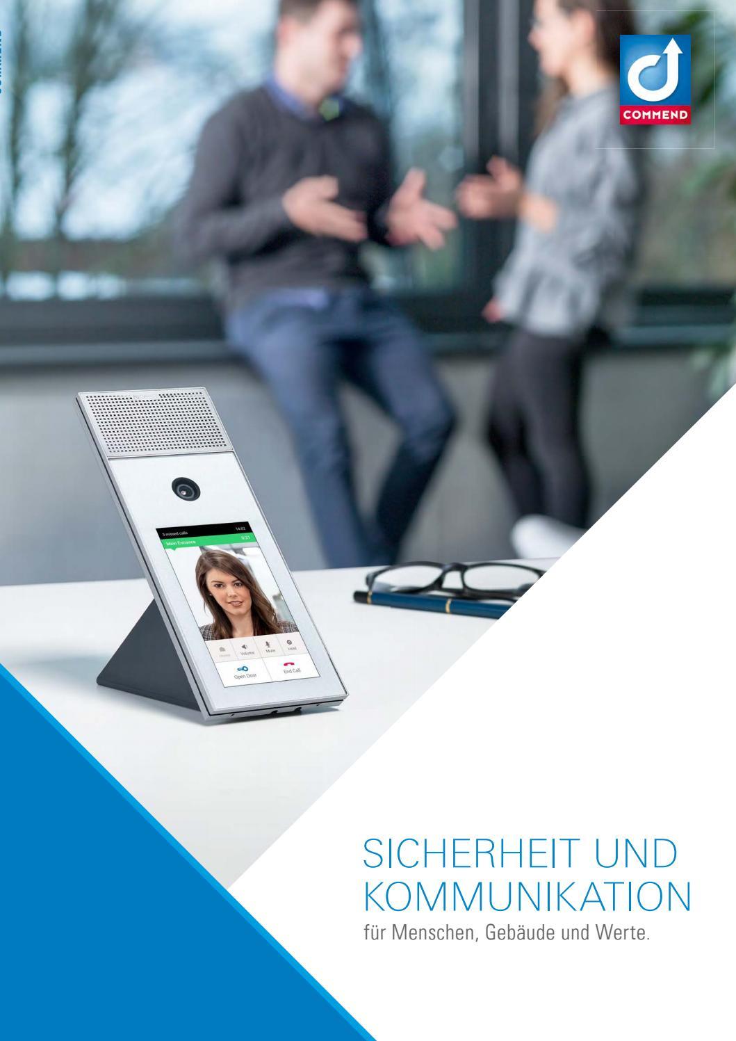Commend Produktkatalog 2018/2019 – DEUTSCH by Commend International ...
