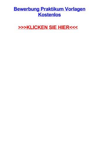 Bewerbung praktikum vorlagen kostenlos by summerhomjw - issuu