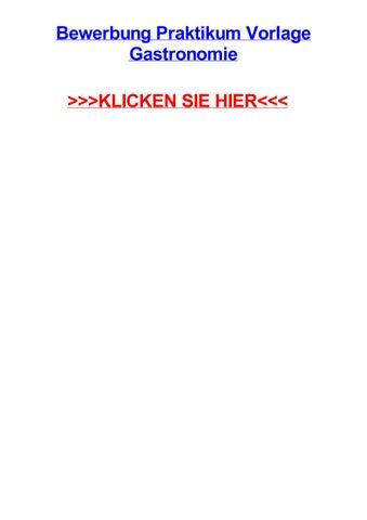 bewerbung praktikum vorlage gastronomie bad windsheim bavaria masterarbeit zur erlangung - Bewerbung Gastronomie