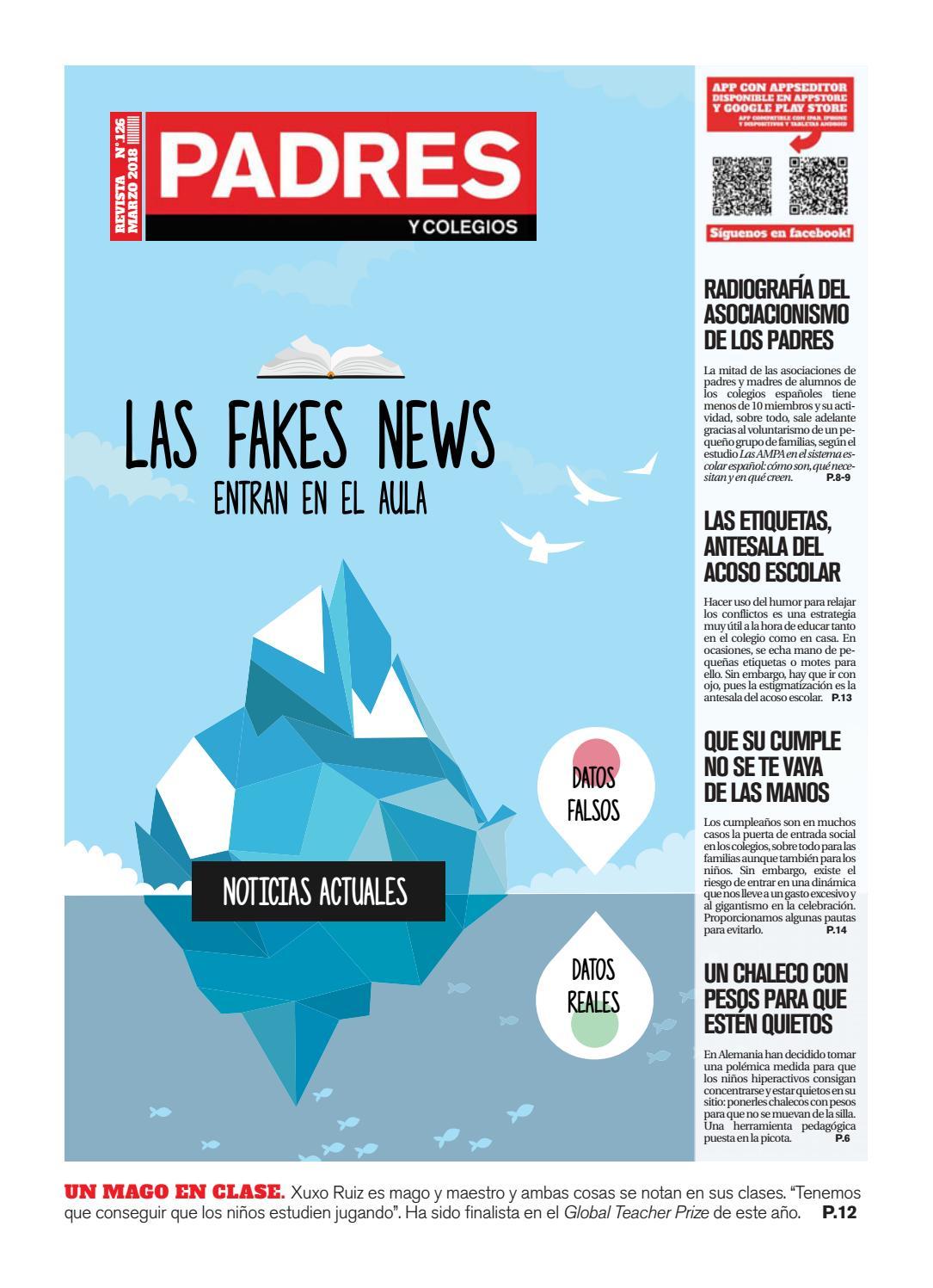 Padres y Colegios Nº 126 - marzo 2018 by Grupo Siena - issuu