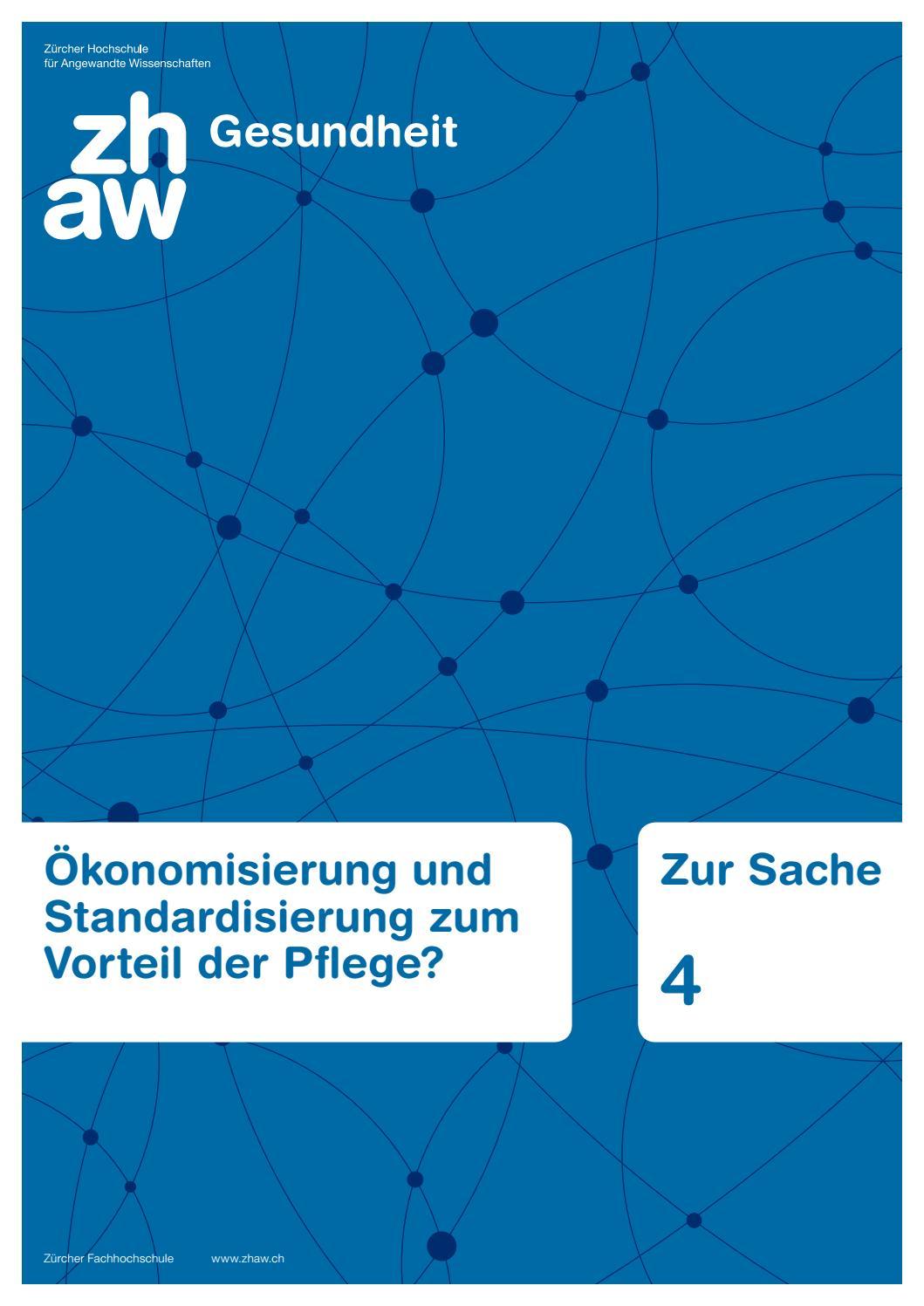 Themenmagazin zur Sache 4 by ZHAW Gesundheit - issuu