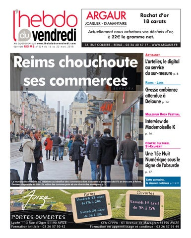 Lhebdo Du Vendredi Reims 524 By Kilkoa Issuu