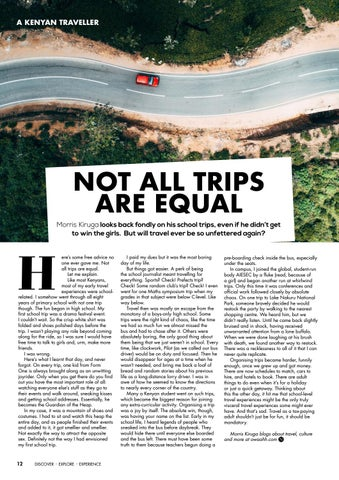 Page 14 of Not All Trips are Equal