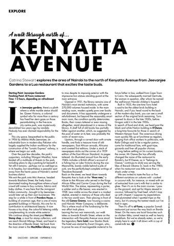 Page 38 of A Walk Through North of Kenyatta Avenue