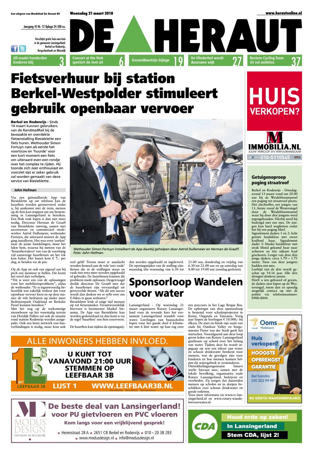 Kleurplaten Van Ome Opa.Heraut Week 12 2018 By Nieuwsblad De Heraut Issuu