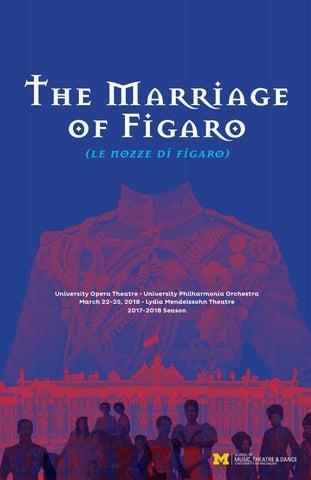 Figaro program by University of Michigan School of Music