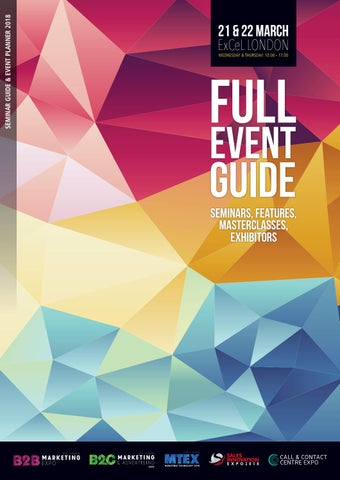 Marketing Show Full Event Guide 2018 by Prysm Group - issuu