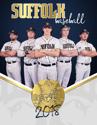 2018 Suffolk Baseball Media Guide By Suffolk University Athletics Issuu