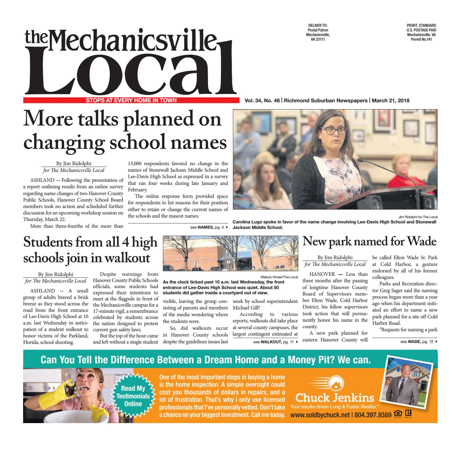 03 21 18 by The Mechanicsville Local issuu